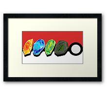PKM Evo Stones v2 Framed Print