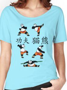Kung-Fu Panda (Colour) Women's Relaxed Fit T-Shirt