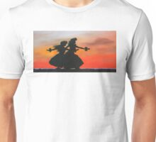 Dancers at Sunset Unisex T-Shirt