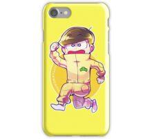 Jumpsuit matsu -Jyushimatsu iPhone Case/Skin
