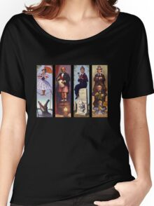 All characther haunted mansion Women's Relaxed Fit T-Shirt
