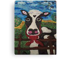 I ❤️ Cows Canvas Print