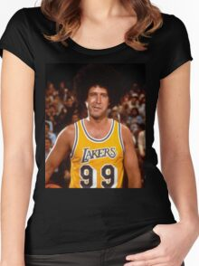 Fletch Lakers Women's Fitted Scoop T-Shirt