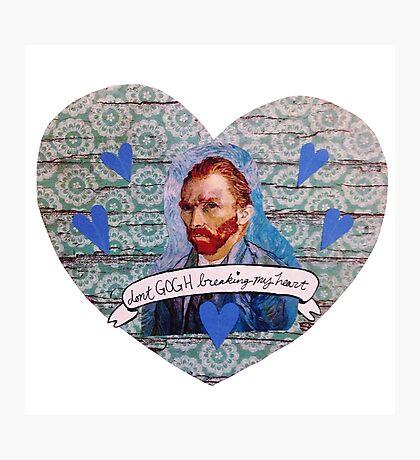 Van Gogh Valentine (Version 1) Photographic Print
