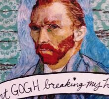 Van Gogh Valentine (Version 1) Sticker