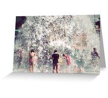 Making a splash Greeting Card