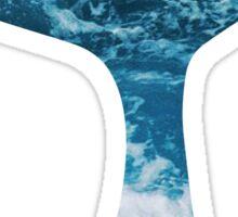 Mermaid Tail Ocean Wave Sticker