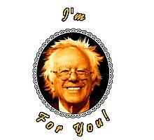 I'm Bernin' For You! (Clear / Black) Photographic Print