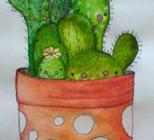 Cactus family Sticker