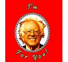 I'm Bernin' For You! (Red / White) Photographic Print