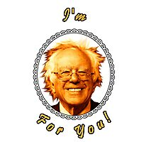 I'm Bernin' For You! (Clear / White) Photographic Print