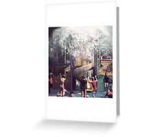 Here it comes! Greeting Card