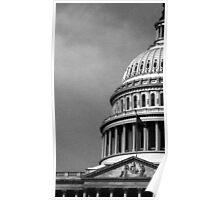 Monochrome Capitol Poster