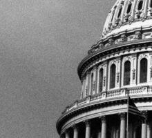 Monochrome Capitol Sticker