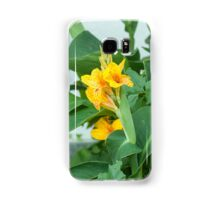 Flowering Orange Garden plants Samsung Galaxy Case/Skin