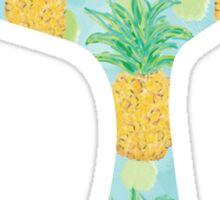 Mermaid Tail Pineapples Sticker