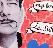 Salvador Dali Valentine Sticker