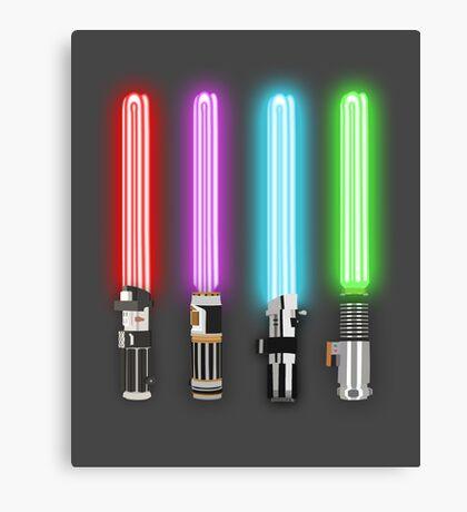 Star Wars - All Light Savers  Canvas Print