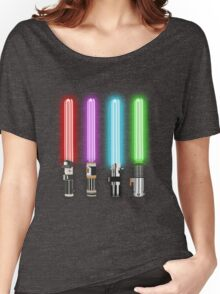 Star Wars - All Light Savers  Women's Relaxed Fit T-Shirt