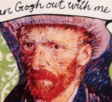 Van Gogh Valentine (Version 2) Sticker