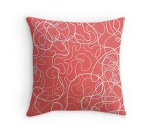 Wriggles  by AshleyPanditaArtCreations Throw Pillow