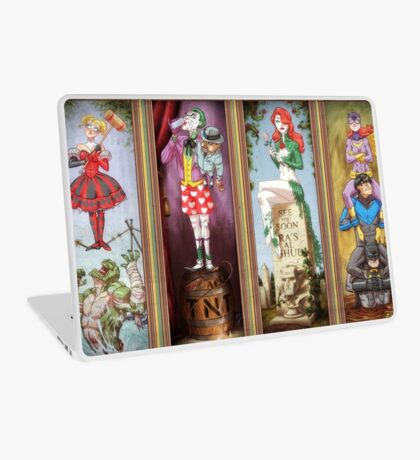 All haunted mansion Laptop Skin