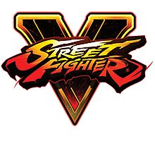 Street Fighter five V Photographic Print
