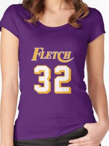 Chevy Chase Fletch 32 Women's Fitted Scoop T-Shirt