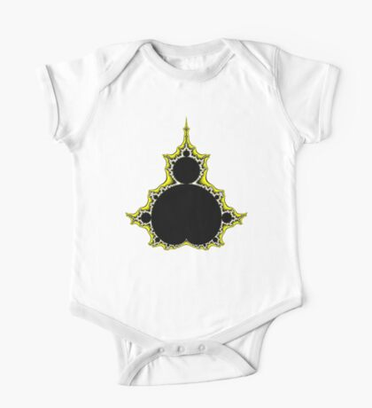 Mandelbrot Buddha  One Piece - Short Sleeve