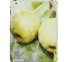 Yellow Apples iPad Case/Skin