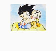 Goku and Krillin on the Nimbus Unisex T-Shirt