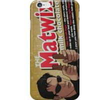 The Matwix Chocolate Bar Funny iPhone Case/Skin