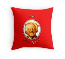 I'm Bernin' For You! (Red / White) Throw Pillow