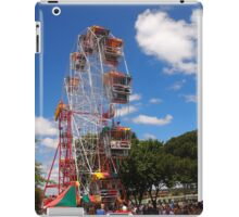 The Fun of the fair at Moonee Valley for Christmas party, Melbourne, Vic, Australia iPad Case/Skin