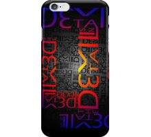 Devil in the Details iPhone Case/Skin