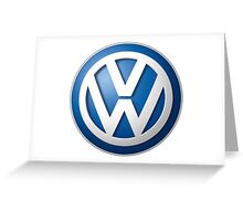 Car VW Greeting Card