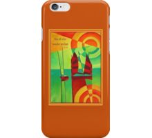 Not All Who Wander Are Lost Chinese Junks On Still Waters iPhone Case/Skin