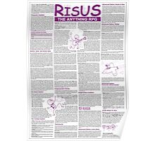Risus: The Anything RPG (On Stuff) Poster