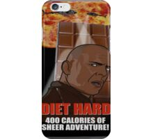 Die Hard Chocolate Bar Funny iPhone Case/Skin