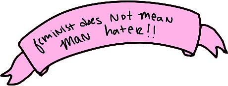 Quot Feminist Does Not Mean Man Hater Quot Stickers By
