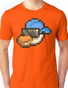 Large Blue Hat Chancy Unisex T-Shirt