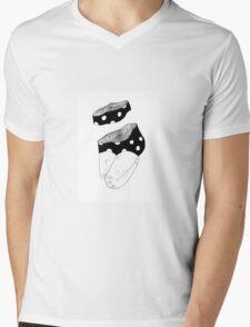 polka  Mens V-Neck T-Shirt