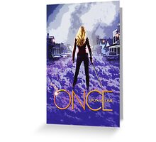 Once Season One Promo Greeting Card
