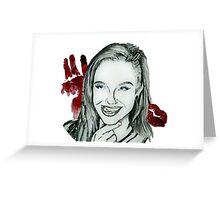 Mykie Portrait Greeting Card