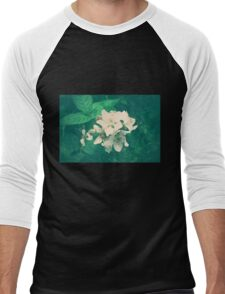 Overlit Flowers Men's Baseball ¾ T-Shirt