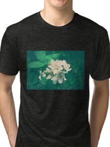 Overlit Flowers Tri-blend T-Shirt