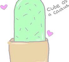 Cute cactus by Skyliene