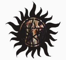 Protection Symbol. spn ed. One Piece - Short Sleeve