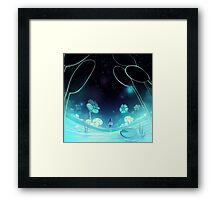 waterfall 3/3 Framed Print