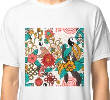 China traditional elements with monkey Classic T-Shirt